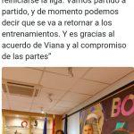 Autoridades españolas, se refirieron la la presencia del público en las canchas