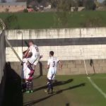 Gol de Juan Nahs, para el triunfo de Argentino, sobre Cosmos
