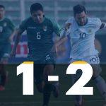 Bolivia 1 - Argentina 2 (Compacto del partido)