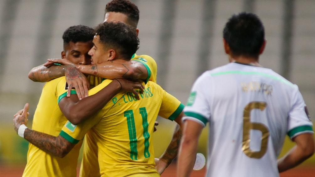 Brasil 5 - Bolivia 0 (Fecha 1, Eliminatorias Qatar 2022)
