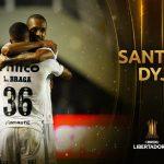 Defensa y Justicia perdió con Santos y quedó afuera de la Libertadores