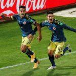 Chile 2 - Colombia 2 (Fecha 2, eliminatorias Qatar 2022)