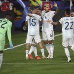 Argentina 1 - Ecuador 0 (Fecha 1, eliminatorias Qatar 2022)