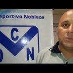 Lucas Muzzi, analizó el presente de Deportivo Nobleza
