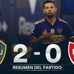 Boca Juniors 2 - Newell's Old Boys 0 (La síntesis y resumen del partido)