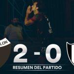 Colón 2 - Central Córdoba 0 (El resumen)