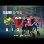 Defensa y Justicia 0 - Colón 3 (Los goles)