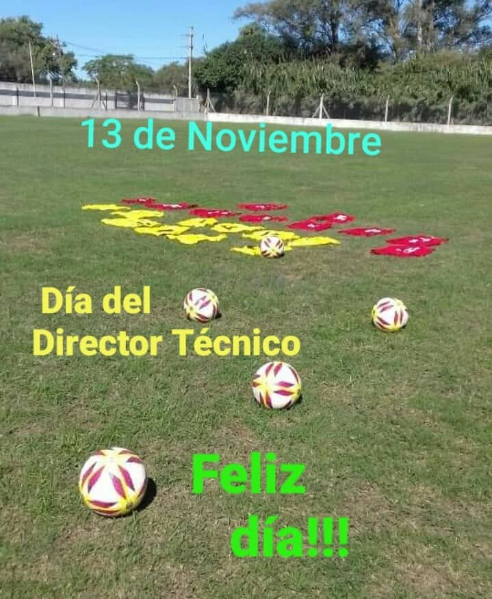 13 de noviembre, día Nacional del director técnico