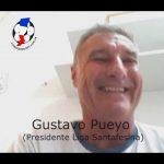 Gustavo Pueyo, habló de todos los temas, referentes a la Liga Santafesina