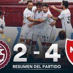 Lanús 2 - Newell's Old Boys 4 (La síntesis y goles)