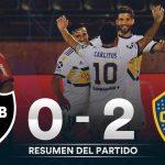 Newell´s Old Boys 0 - Boca Juniors 2 (Síntesis y goles)
