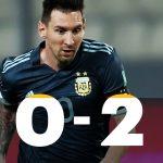 Perú 0 - Argentina 2 (Resumen del partido, fecha 4, eliminatorias Qatar 2022