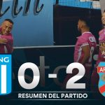 Racing 0 - Arsenal 2 (La síntesis y goles)