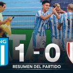 Racing 1 - Unión 0 (Resumen del partido)