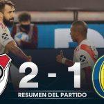 River Plate 2 - Rosario Central 1 (La síntesis y los goles)