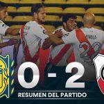 Rosario Central 0 - River 2 (La síntesis y resumen del partido)