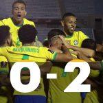 Uruguay 0 - Brasil 2 (4° fecha eliminatorias Qatar 2022)
