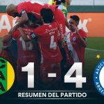 Aldosivi 1 - Argentinos Juniors 4 (la síntesis y resumen de goles)
