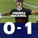 Alvarado 0 - Barracas Central 1 (La síntesis y el gol)