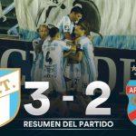 Atlético Tucumán 3 - Arsenal 2 (La síntesis y resumen del partido