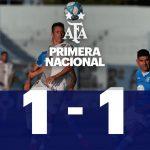 Estudiantes (Río IV) 1 - Platense 1 (3ra fecha, primera Nacional