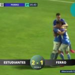 Estudiantes (Río IV) 2 - Ferro 1. (La síntesis y goles del partido)