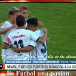 Godoy Cruz 0 - Newell´s 3 (La síntesis e informe del partido)
