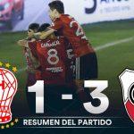 Huracán 1 - River Plate 3 (La síntesis y compacto del partido)