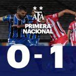 Instituto 0 - Almagro 1 (La síntesis y el gol del triunfo)
