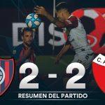 San Lorenzo 2 - Colón 2 (Compacto del partido)