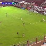 San Martín (Tucumán) 0 - Villa Dálmine 1. (La síntesis y el gol del triunfo)