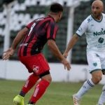 Sarmiento (Junín) 0 - Defensores de Belgrano 0. Partido suspendido
