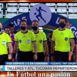 Talleres 1 - Atlético Tucumán 1 (La síntesis y resumen del partido)