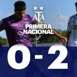 Villa Dálmine 0 - Atlético de Rafaela 2 (La síntesis y las mejores jugadas del partido)