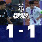Villa Dálmine 1 - Deportivo Riestra 1 (La síntesis y los goles)