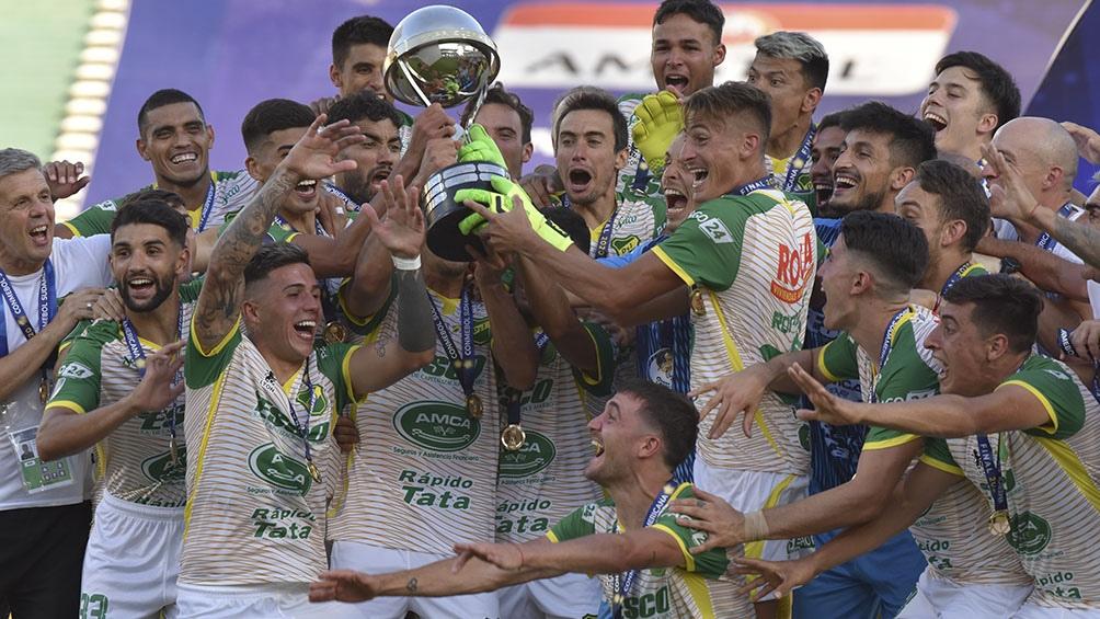 Defensa y Justicia es campeón de la Copa Sudamericana