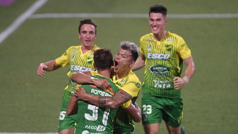 Defensa y Justicia, goleó y es finalista de la Copa Sudamericana