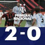 Defensores de Belgrano 2 - Atlético de Rafaela 0. (La síntesis y goles del partido)