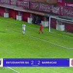 Estudiantes (Caseros) 2 (3) - Barracas Central 2 (2). El informe y los goles)