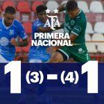 Estudiantes (Río IV) 1 (3) - Sarmiento (Junín) 1 (4). Compacto del partido