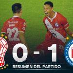 Huracán 0 - Argentinos Juniors 1. (La síntesis y Compacto del partido)