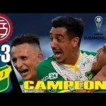Lanús 0 - Defensa y Justicia 3 (Compacto final Copa Sudamericana)