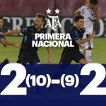 Luego de 22 penales, Atlético de Rafaela eliminó a Quilmes