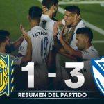 Rosario Central 1 - Vélez Sarfield 3  (Compacto del partido)