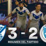 Vélez Sarfield 3 - Godoy Cruz 2. (Informe y compacto del partido)
