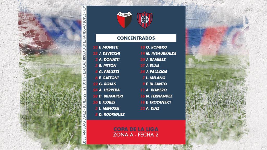 La previa de Colón - San Lorenzo