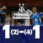 Estudiantes (Río IV) 1 (2) - Plantense 1 (4). Compacto del partido