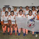 Las Flores II 8 - Deportivo Santa Rosa 0. (Primera División Femenina)