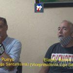 Conferencia de prensa Gustavo Pueyo - Eladio Rosso