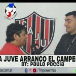 Entrevista a Paulo Poccia, técnico de Juventud Unida de Candioti